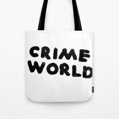 Crime World Logo Tote Bag