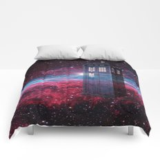 Dr Who police box  Comforters