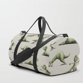 Yogasaurs (Sand) Duffle Bag