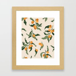 Kumquats Framed Art Print