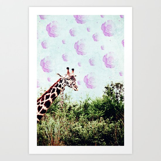 Dreams of Roses Art Print