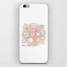 I {❤} SWEET STUFF iPhone & iPod Skin