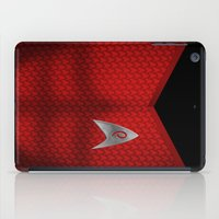 engineer iPad Cases featuring Star Trek Series - Engineer Suit by Roboz