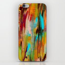 Abstract vivacious iPhone Skin