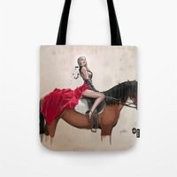 gemma Tote Bags featuring 38. Gemma by BABA-G | arts and crafts