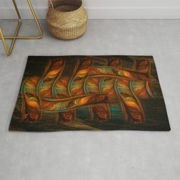 Abstract Totem Rug