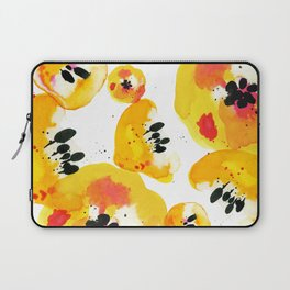 Water Flowers Laptop Sleeve