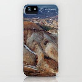 Landmannalaugar III iPhone Case