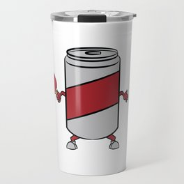 A big fan of table tennis? Here's a shirt with a twist. A Can Playing Table Tennis Pingpong Racket Travel Mug