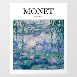 Monet - Water Lilies Art Print