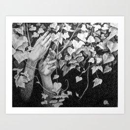 In the Vines Art Print