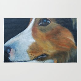 Sheltie Shetland Sheepdog Art Rug