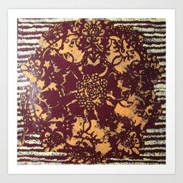 Albie Lace Art Print