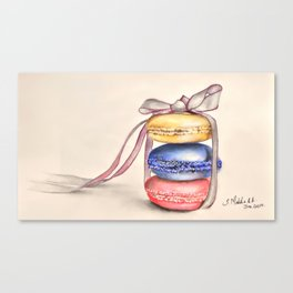Macroons.  Canvas Print