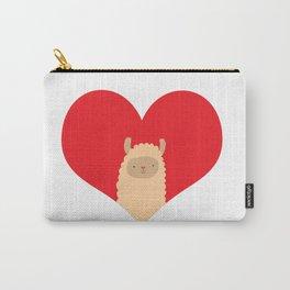 Love Alpaca Carry-All Pouch