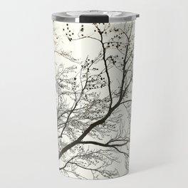 Snow Tree Garden Travel Mug