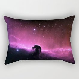 Horsehead Nebula in the Constellation Orion Rectangular Pillow