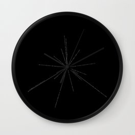 The Pulsar Map Wall Clock