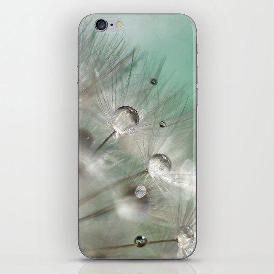 Silver Mint Dandelion iPhone & iPod Skin