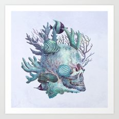 Full Fathom Five - colour option Art Print