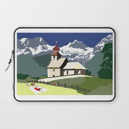 Auer Church Austrian Picnic Laptop Sleeve