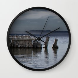 Pillars of Salt Wall Clock