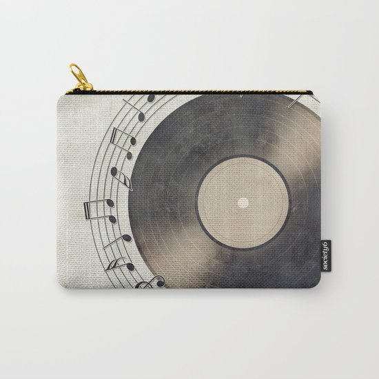 Vinyl Music Collection Carry-All Pouch