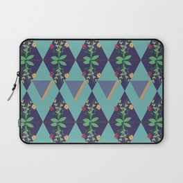 Graphic Nature III - Blue Laptop Sleeve