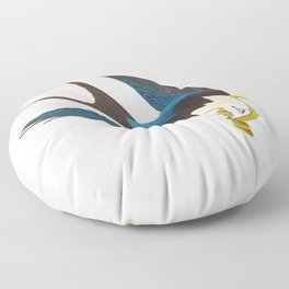 Swallow-tailed Hawk Floor Pillow