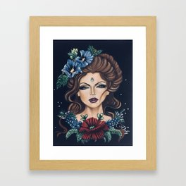 Garden Glory Framed Art Print