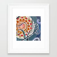 lotus Framed Art Prints featuring Lotus by brenda erickson
