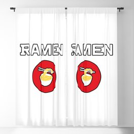 Ramen Blackout Curtain