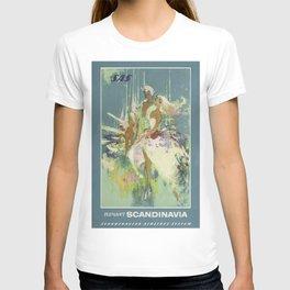 Vintage poster - Scandinavia T-shirt