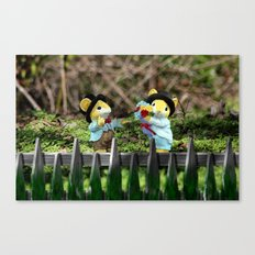 A little romance Canvas Print