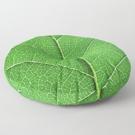 Green Vein Life Floor Pillow
