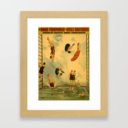 Snows Consolidated Framed Art Print