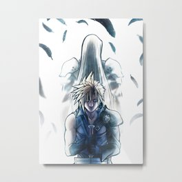 Soldier will Metal Print