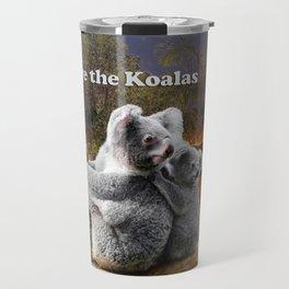 Save the Koalas Travel Mug