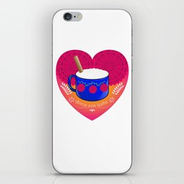 El Amor de Mi Vida / The love of my life iPhone Skin