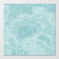 Polar Chill Canvas Print