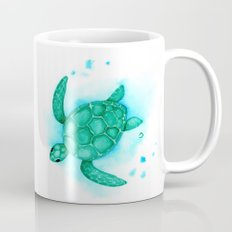 Nursery Style Sea Turtle Coffee Mug