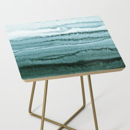 WITHIN THE TIDES - OCEAN TEAL Side Table