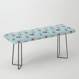 Zombie Cats Bench
