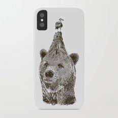 Bear iPhone X Slim Case