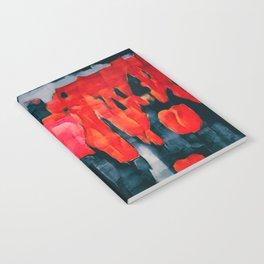 Tulip Field at Night Notebook