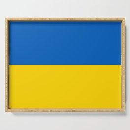 Ukraine National Flag Serving Tray