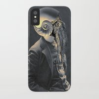 marine iPhone & iPod Cases featuring MARINE by Julia Lillard Art