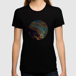 Peacock Ocean T-shirt