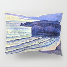 French Coastal Scene by Maximilien Luce Pillow Sham