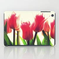 tulips iPad Cases featuring Tulips by 2sweet4words Designs